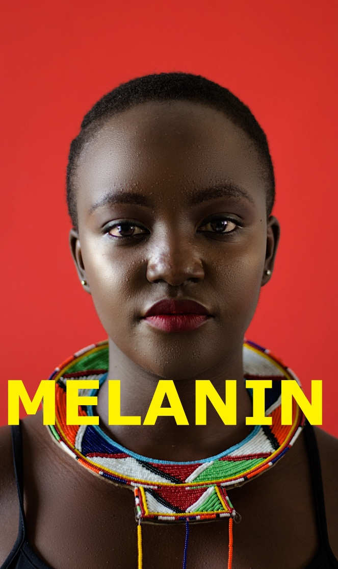 Look 2 - 2 Melanin text