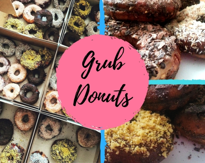 Grub donuts blog cover